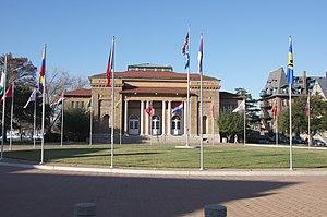 Hampton, Virginia - Ogden Hall at Hampton University