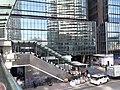 HK 中環 Central 干諾道中 Connaught Road World-wide Building footbridge escalators December 2019 SS2 01.jpg