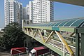 HK 香港南區 Southern District 薄扶林道 Pokfulam Road 瑪麗醫院 Queen Mary Hospital footbridge escalators January 2019 IX2 14.jpg