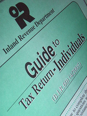 Inland Revenue Department (Hong Kong) - Tax Guide by IRD