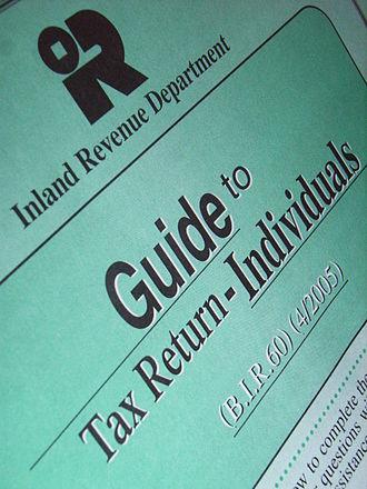 Inland Revenue Department (Hong Kong) - Tax Guide by IRD