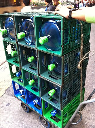 Bottled water - Distilled, purified water, in Hong Kong