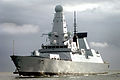 HMS Dauntless Arrives in Porstmouth MOD 45150840.jpg