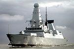 HMS Dauntless Arrives in Porstmouth MOD 45150840.jpg