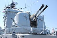 HMS Smaland, 57 mm turret.JPG
