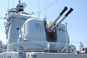 HMS Smaland, 57 mm turret.JPG