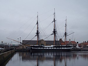 HMS Trincomalee - Image: HMS Trincomalee at Hartlepool 2010 (800x 600)
