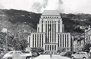 HSBC Building (Hong Kong) - The third design of the HSBC headquarters building in 1936
