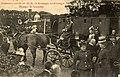 HUA-165066-Afbeelding van de aankomst van Koningin Wilhelmina en Koningin-Moeder Emma per trein op het perron van het N.C.S.-station Soestdijk te Soest.jpg