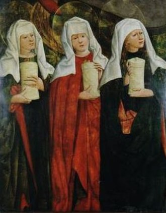The Three Marys - Image: Haberschrack, Trzy Marie u grobu