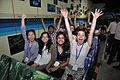 Hacking Space Participants on Dark Ride - Science Exploration Hall - Science City - Kolkata 2016-03-29 2869.JPG