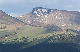 Hagues Peak mountain in United States of America