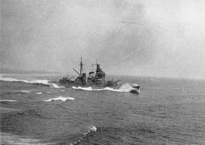 Battle of the Malacca Strait - Image: Haguro 1936