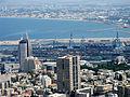 Haifa Bay and Sail-Tower.jpg