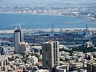 Haifa Bay and Sail-Tower.jpg