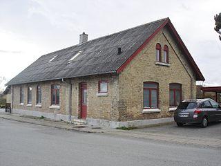 Halvrimmen Village in North Jutland, Denmark