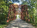 Hancock-Rush County Line Bridge, southern portal.jpg