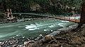 Hanging bridge on Neelum river in Azad Kashmir.jpg