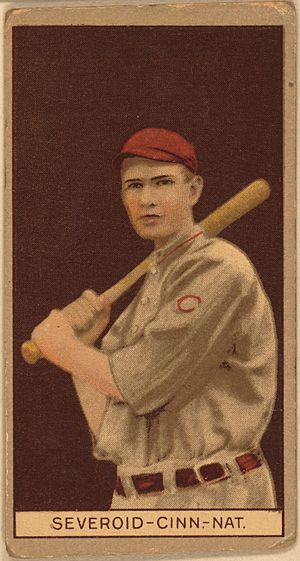 Hank Severeid - Image: Hank Severeid baseball card