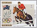 Hans Günter Winkler 1972 Ajman stamp.jpg