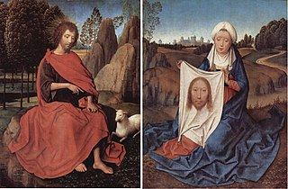 St John and Veronica Diptych