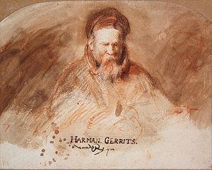 Portrait of Harmen Gerritsz. van Rijn (1565-1630)