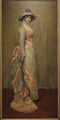 Harmony in Pink and Gray - Lady Meux, Whistler - Indianapolis Museum of Art - DSC00741.JPG