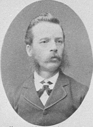 Harry Allwright - Harry Allwright in 1882