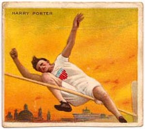 Harry Porter - Image: Harry Porter 1910 Mecca card front