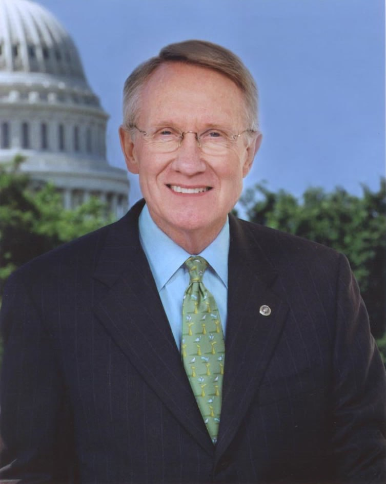 Harry Reid official portrait