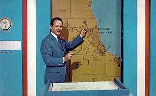 Harry Volkman American television meteorologist