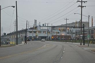 Cuyahoga Heights, Ohio - Alcoa complex on Harvard Avenue