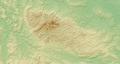 Harz (Relief) - Deutsche Mittelgebirge, Serie A-de.png
