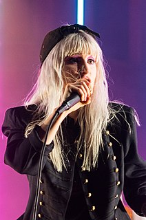 Hayley Williams American singer, songwriter, and musician