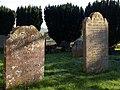 Headstones, Clyst St George - geograph.org.uk - 1660143.jpg