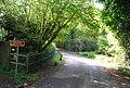 Heed the sign, Springfield Lane - geograph.org.uk - 1289393.jpg