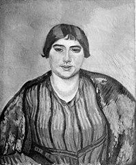 Portrait of Honorine