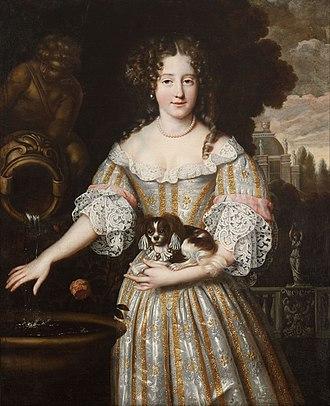 Louise de Kérouaille, Duchess of Portsmouth - Henri Gascard - Louise de Keroualle, Duchess of Portsmouth - Google Art Project
