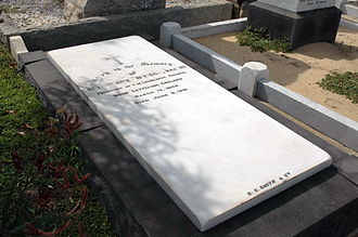 Fremantle Cemetery - Sir Henry Briggs became President of the Legislative Council.