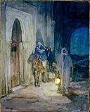 Henry Ossawa Tanner - Flight into Egypt (1923).jpg