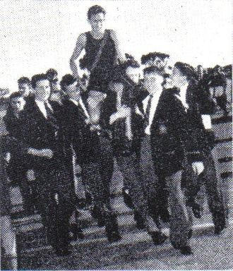 Athletics at the 1958 British Empire and Commonwealth Games - Australia's Herb Elliott scored double gold with wins in the 880 yards and mile run.