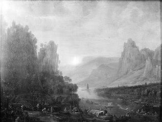 Rhine Landscape by Bingen