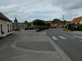 The centre of Hermelinghen
