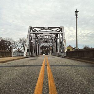 Hertford, North Carolina - Hertford's famous 'S-Bridge,'