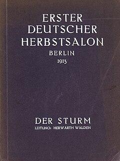 Erster Deutscher Herbstsalon Art exhibition