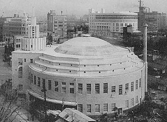 Mikishi Abe - Image: Hibiya Cinema Theater in Taisho and Pre war Showa eras