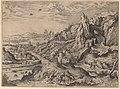 Hieronymus Cock, Sacrifice of Abraham, 1551, NGA 74772.jpg