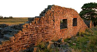 West Pennine Moors - The moors are dotted with many ruins, such as Higher Hempshaw's