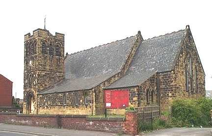 Hightown, Castleford, All Saints Church - geograph.org.uk - 226763
