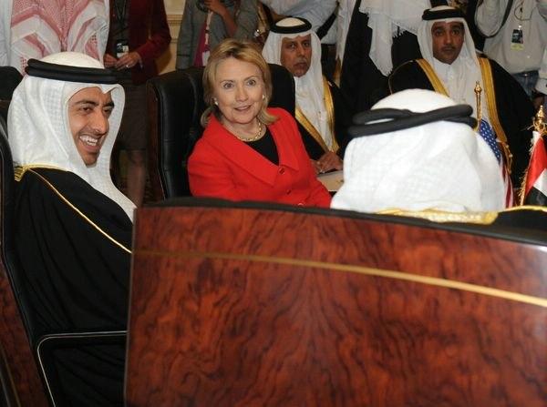 Hillary Rodham Clinton in Doha Jan 2011
